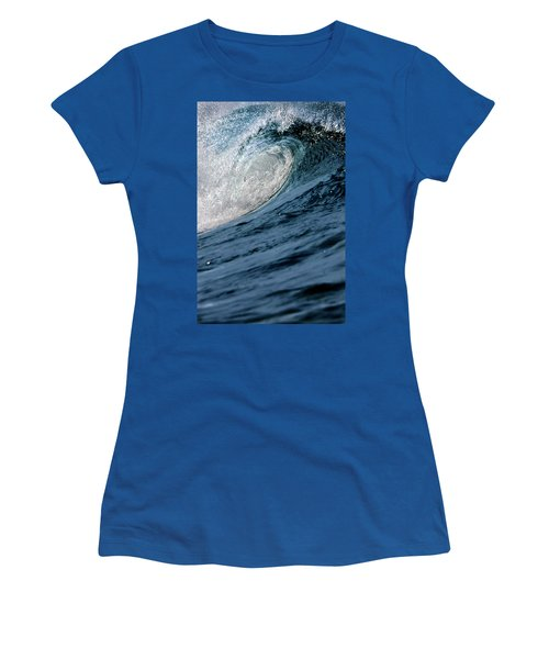 Blue Curl Women's T-Shirt