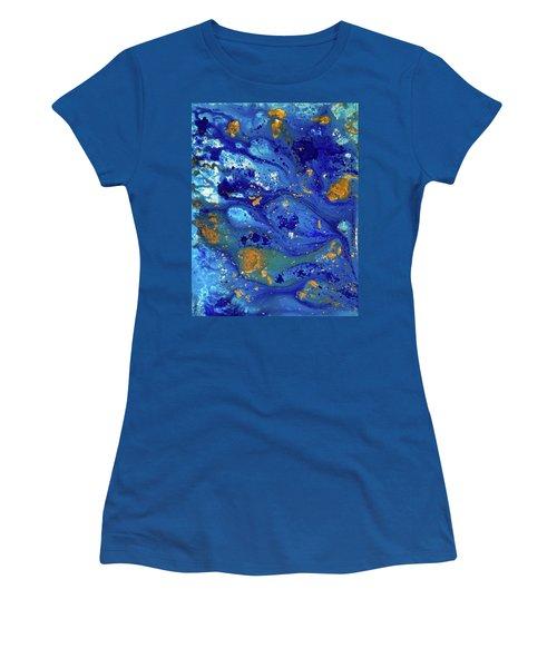 Blue Dream Women's T-Shirt (Junior Cut) by Sean Brushingham