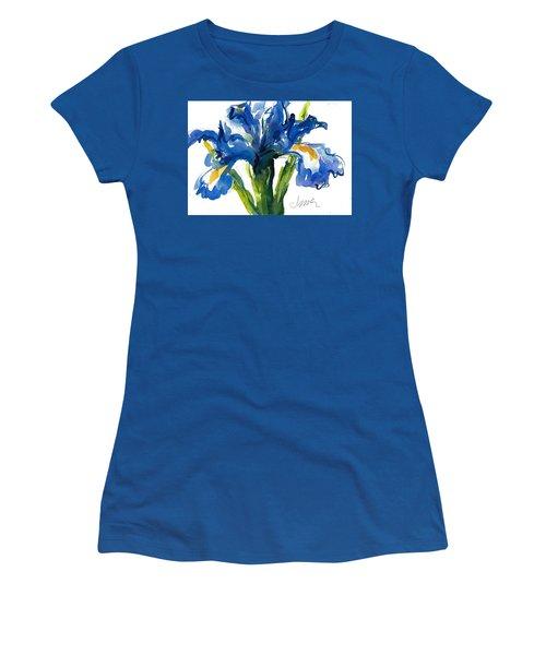Blue Dutch Iris For Kappa Kappa Gamma Women's T-Shirt
