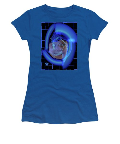 Blue Eyed Girl Women's T-Shirt (Athletic Fit)