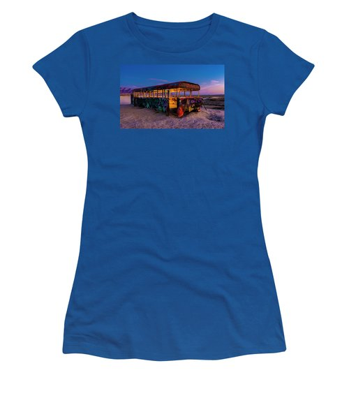 Blue Hour Bus Women's T-Shirt