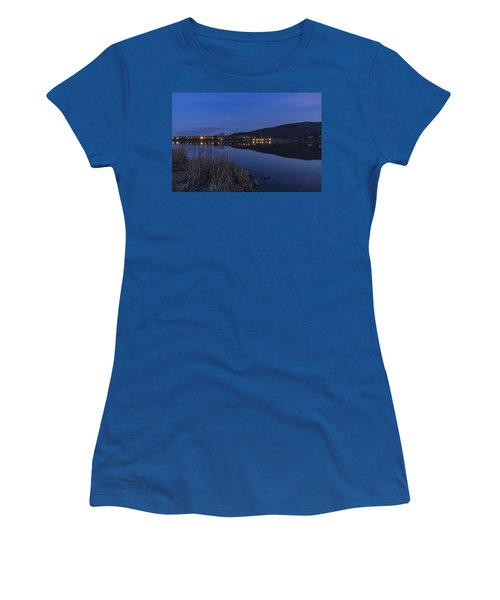Blue Hour Retreat Meadows Women's T-Shirt (Athletic Fit)