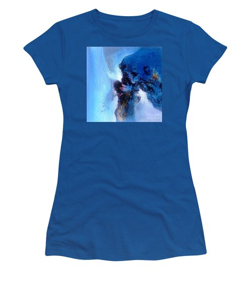 Blue Sea Women's T-Shirt (Junior Cut) by Sanjay Punekar