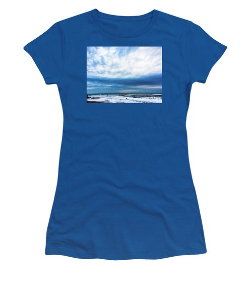 Emotion And Departure At Half Moon Bay Women's T-Shirt (Athletic Fit)