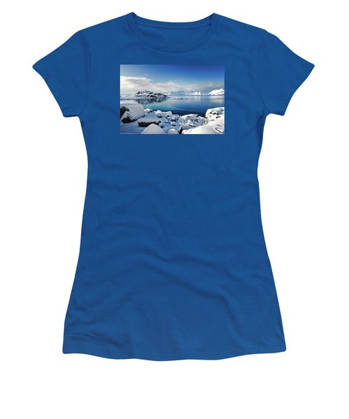 Blue Sunday Women's T-Shirt (Athletic Fit)
