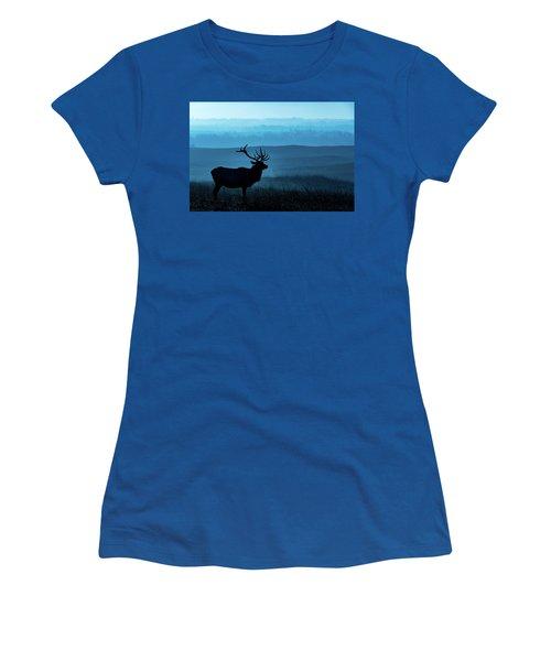 Blue Sunrise Women's T-Shirt (Junior Cut) by Jay Stockhaus