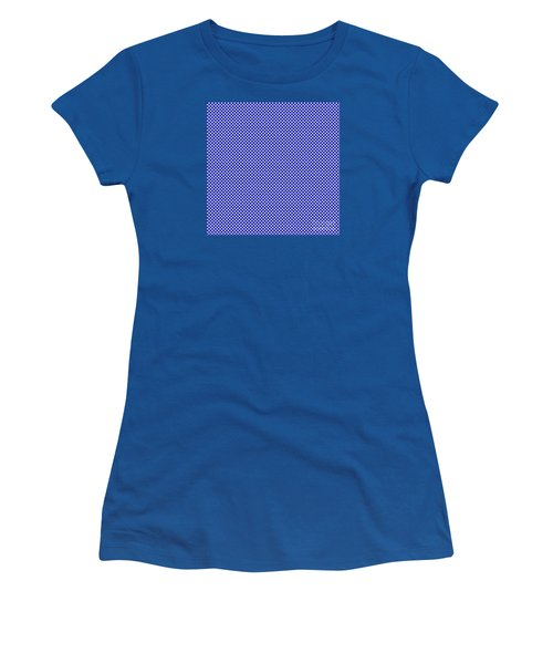 Blue Weave Women's T-Shirt (Athletic Fit)