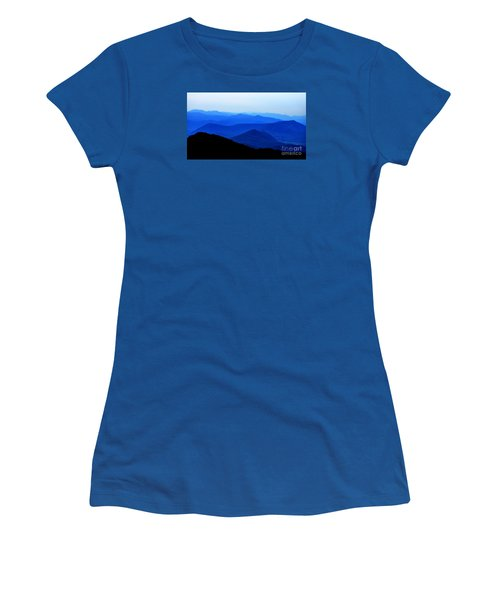 Blueridge Mountains - Parkway View Women's T-Shirt (Athletic Fit)