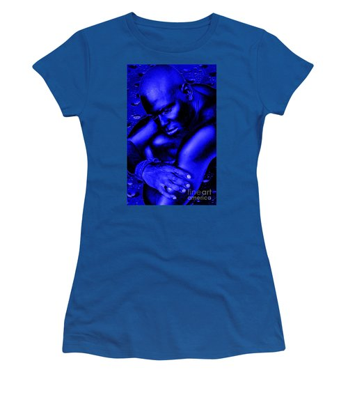 Blues Women's T-Shirt (Junior Cut) by Tbone Oliver