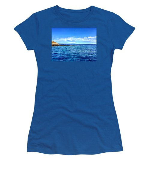 Women's T-Shirt (Junior Cut) featuring the photograph Boat Life 1 by Michael Albright