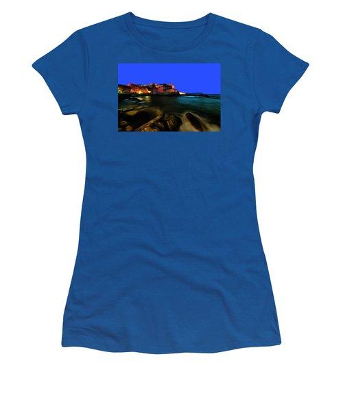 Boccadasse By Night Paint Women's T-Shirt
