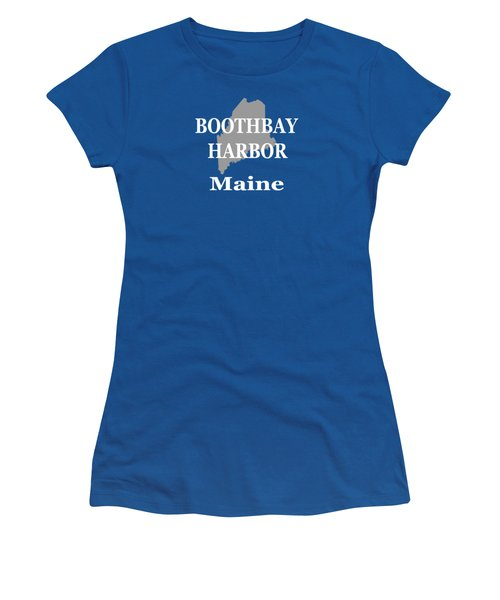 Boothbay Harbor Maine State City And Town Pride  Women's T-Shirt