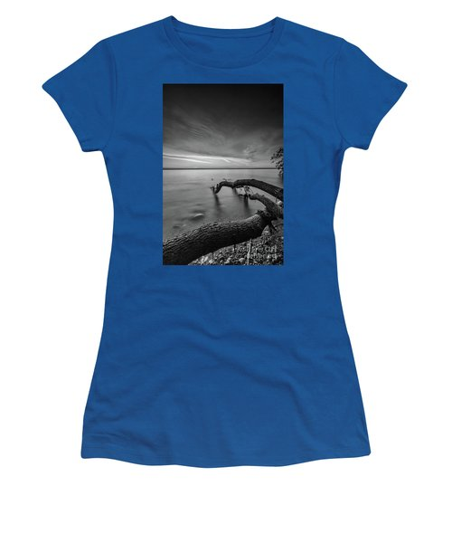 Branching Out - Bw Women's T-Shirt (Athletic Fit)