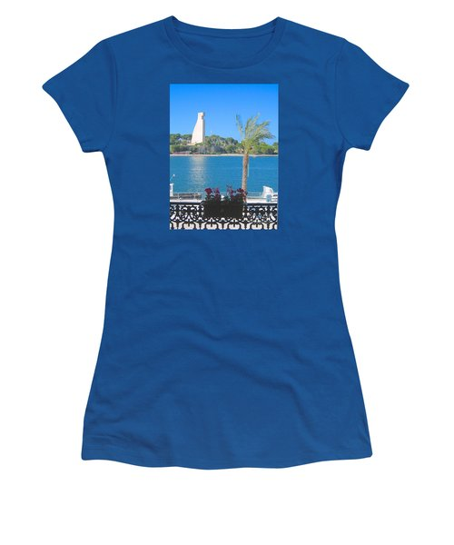 Brindisi By The Sea Women's T-Shirt (Athletic Fit)