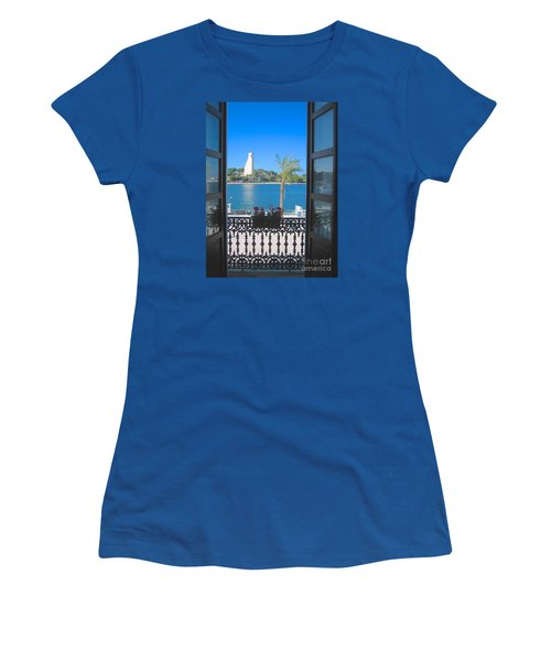 Brindisi Monumento Al Marinaio Women's T-Shirt (Athletic Fit)