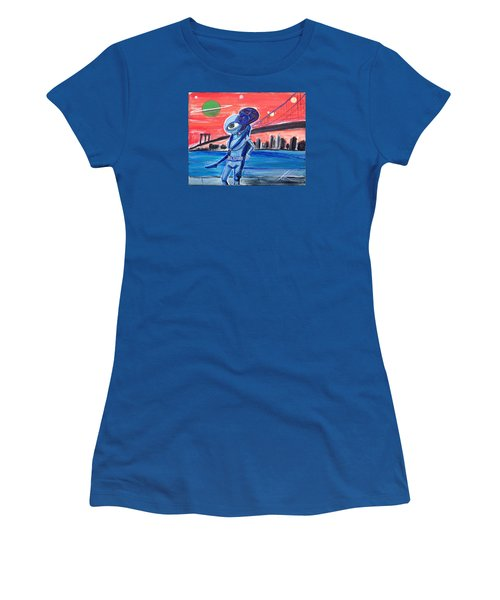 Brooklyn Play Date Women's T-Shirt (Junior Cut)