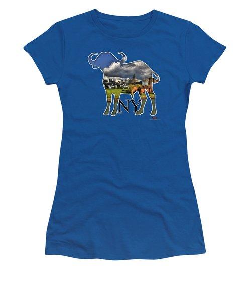 Buffalo Ny Along The Marina Women's T-Shirt (Athletic Fit)