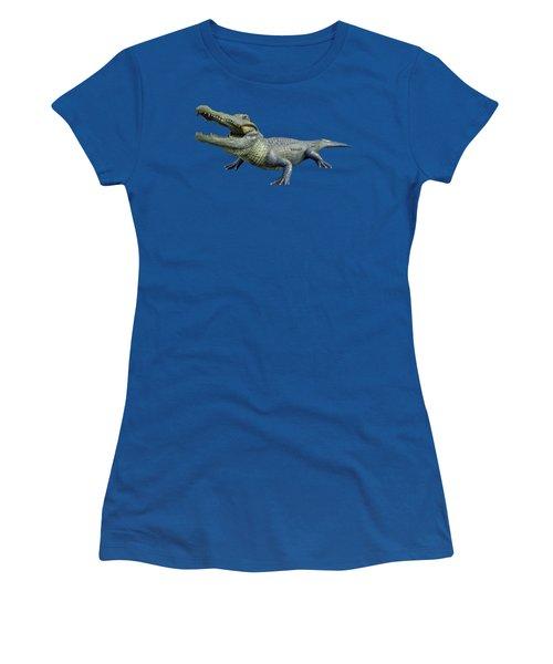 Bull Gator Transparent For T Shirts Women's T-Shirt
