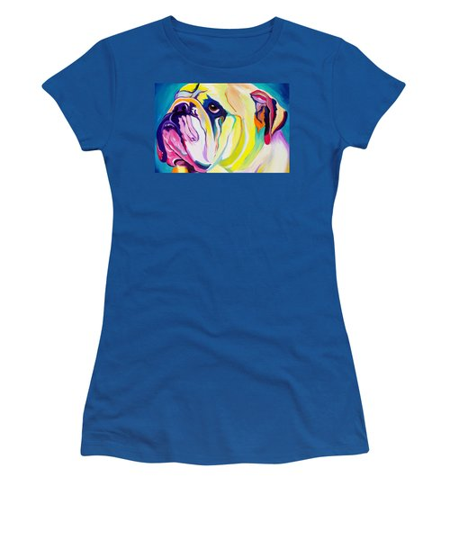 Bulldog - Bully Women's T-Shirt (Athletic Fit)