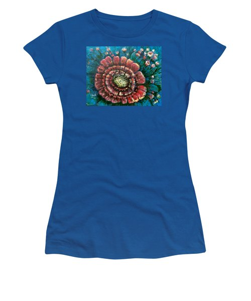 Cactus # 2 Women's T-Shirt (Junior Cut) by Laila Awad Jamaleldin