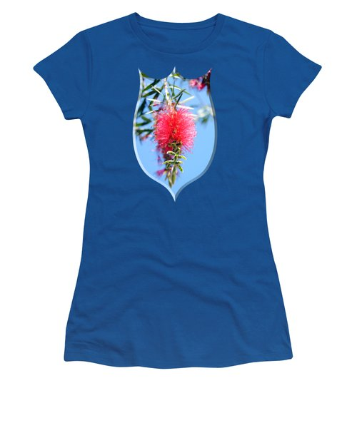 Callistemon - Bottle Brush T-shirt 1 Women's T-Shirt (Junior Cut) by Isam Awad