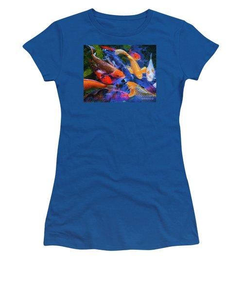 Calm Koi Fish Women's T-Shirt (Athletic Fit)