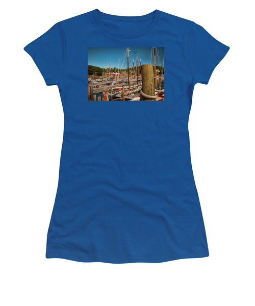 Camden Harbor Women's T-Shirt (Athletic Fit)