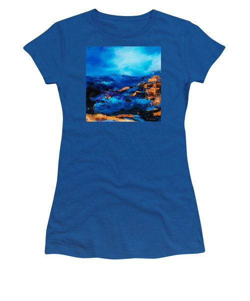 Canyon Song Women's T-Shirt (Athletic Fit)