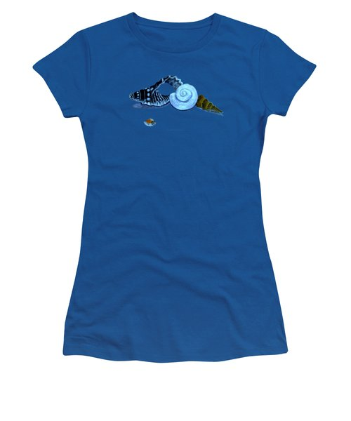 Castles In Blue Women's T-Shirt (Athletic Fit)