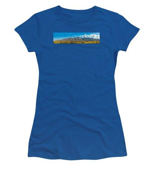 Women's T-Shirt featuring the photograph Catalina Mountain Panorama by Dan McManus