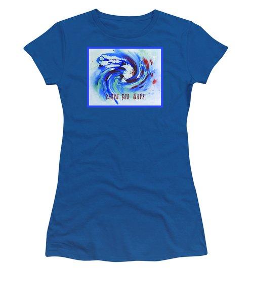 Catch The Wave Women's T-Shirt
