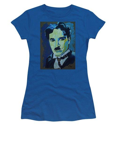 Chaplin Women's T-Shirt (Athletic Fit)