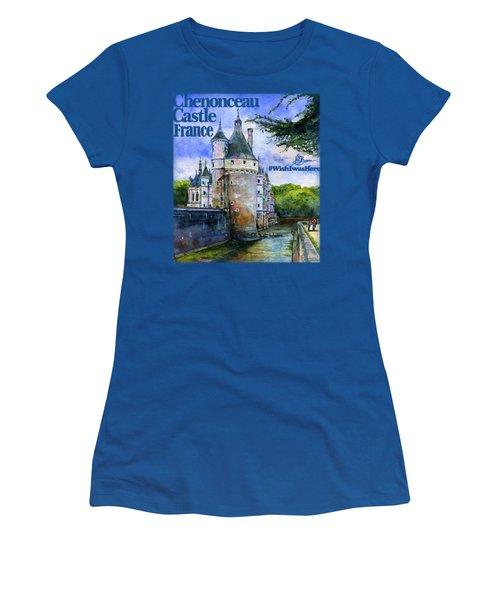 Chenonceau Castle Shirt Women's T-Shirt (Athletic Fit)