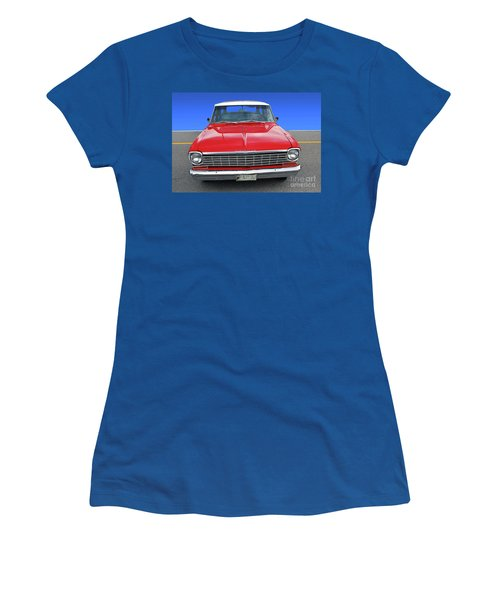 Chev Wagon Women's T-Shirt (Athletic Fit)
