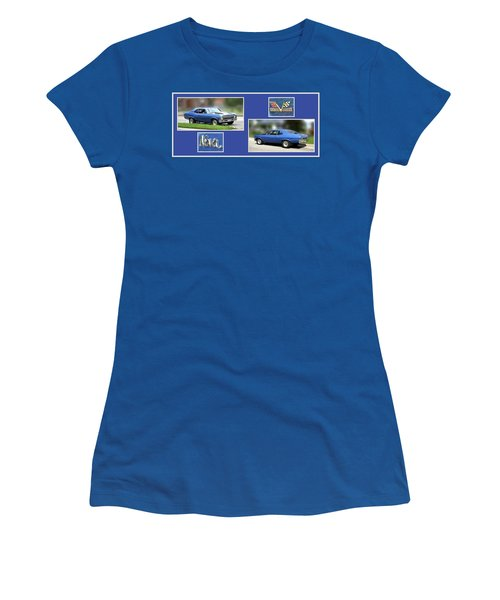 Chevy Nova Horizontal Women's T-Shirt (Athletic Fit)