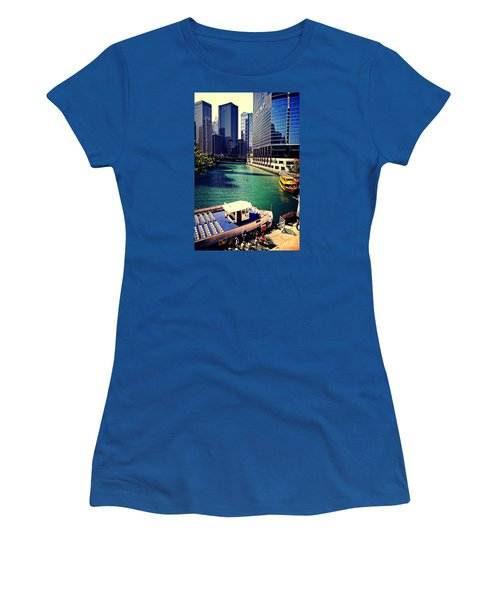 City Of Chicago - River Tour Women's T-Shirt (Athletic Fit)