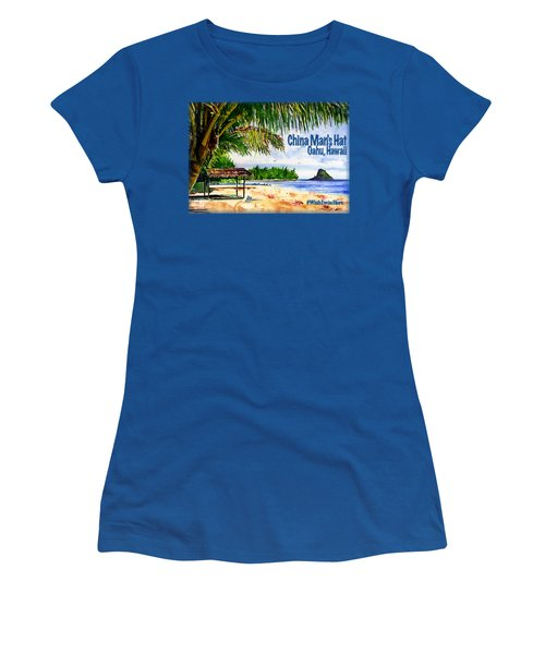 Chinaman Hat Island Shirt Women's T-Shirt (Athletic Fit)
