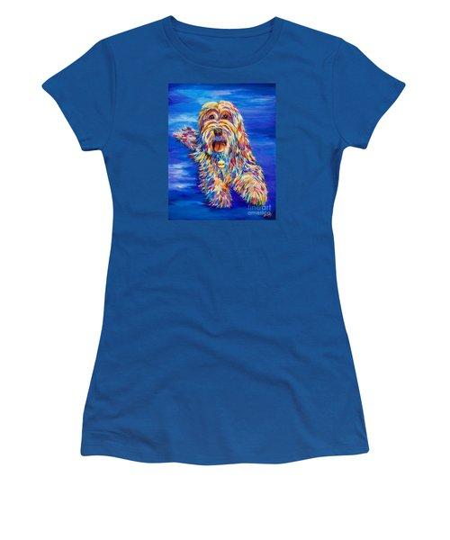 Chloe Women's T-Shirt (Junior Cut) by AnnaJo Vahle