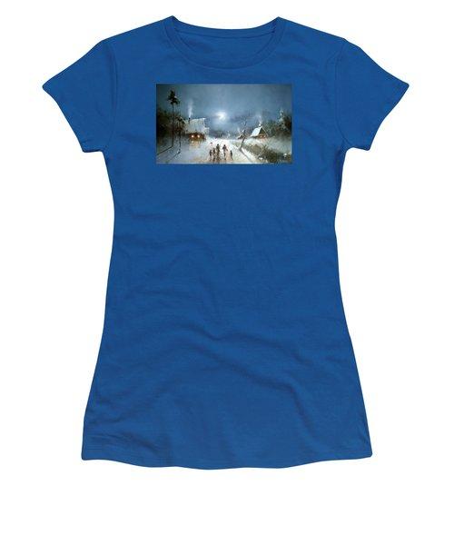Christmas Night Women's T-Shirt