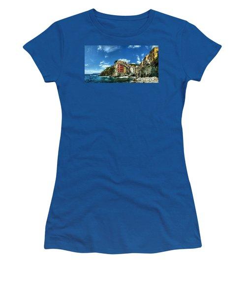 Cinque Terre - View Of Riomaggiore Women's T-Shirt