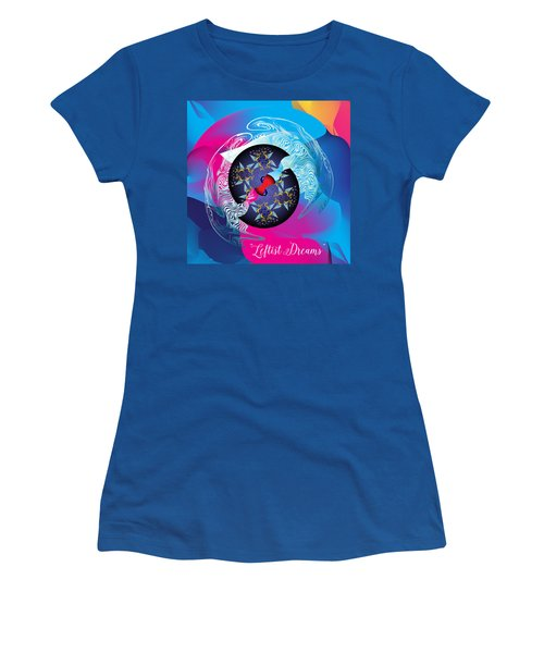 Circularium No 2719 Women's T-Shirt (Junior Cut) by Alan Bennington