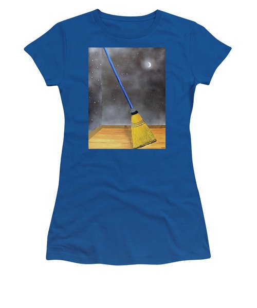 Cleaning Out The Universe Women's T-Shirt