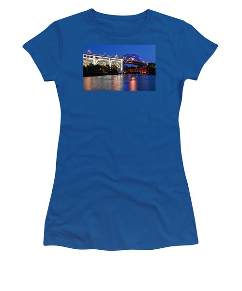 Cleveland Colored Bridges Women's T-Shirt