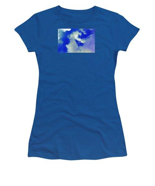 Cloud 1 Women's T-Shirt (Junior Cut) by M Diane Bonaparte