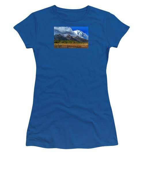 Clouds Rising Women's T-Shirt (Junior Cut) by Diane E Berry