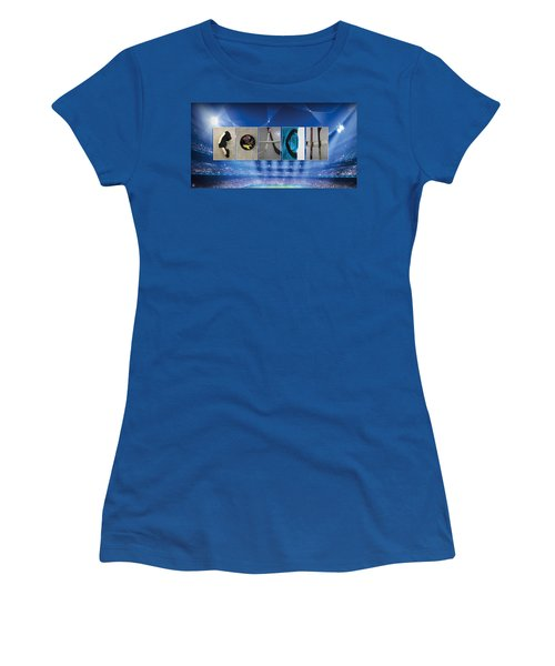 Coach Women's T-Shirt (Athletic Fit)