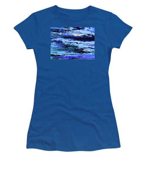 Coastal Breeze Women's T-Shirt (Junior Cut) by Ralph White