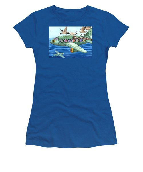 Cod Is My Co-pilot Women's T-Shirt