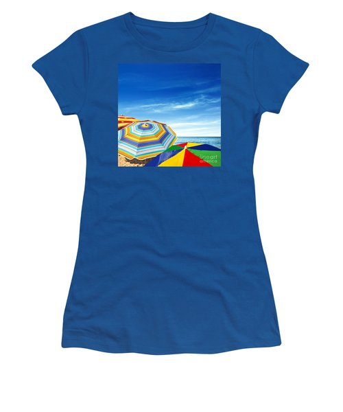 Colorful Sunshades Women's T-Shirt (Athletic Fit)