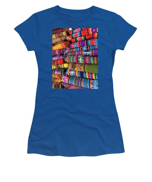 Colorful Tablecloths Women's T-Shirt (Athletic Fit)